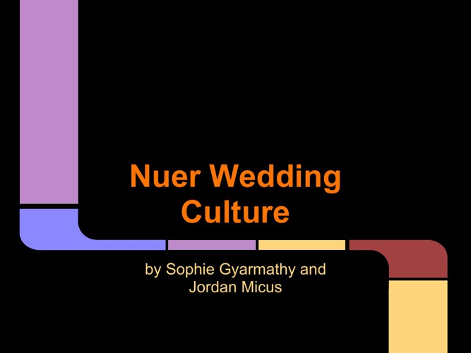 Nuer Wedding Album