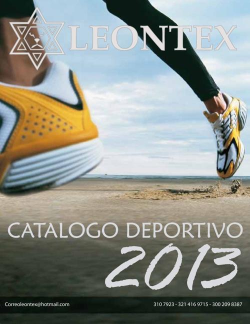 Catálogo 2013 Leontex