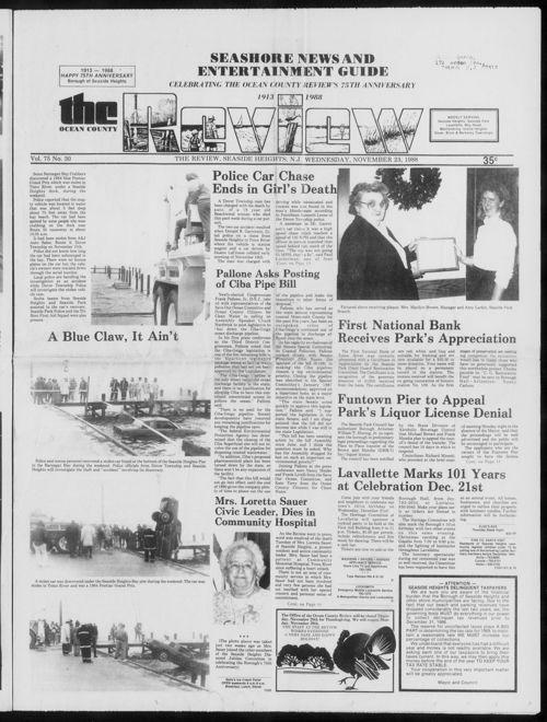 Review November 1988