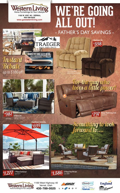 We're Going All Out! Father's Day Savings