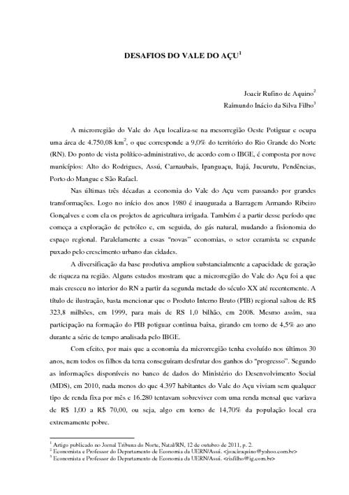 Artigo Joacir e Raimundo