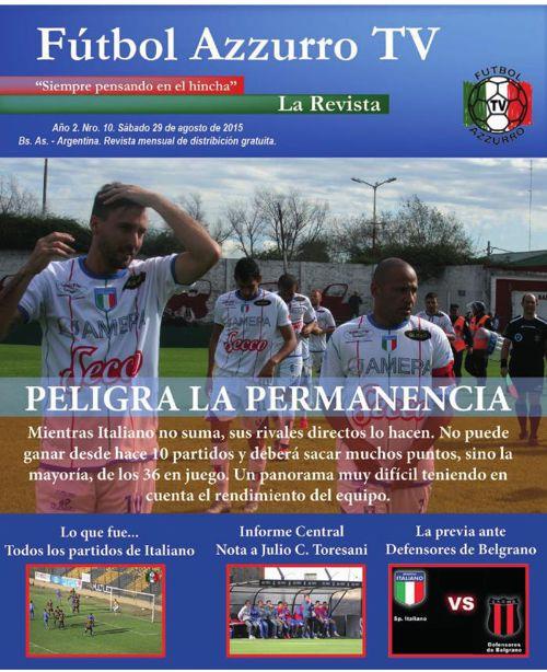 Revista N10  Agosto 2015