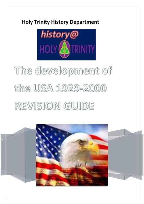 Copy of America 1929-2000