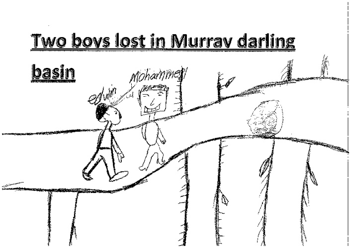Two boys lost in the Murray Darling Basin