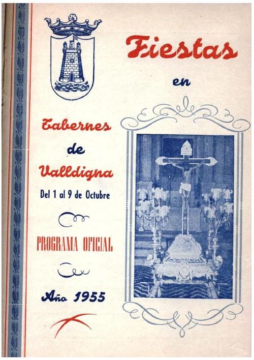 Libro fiestas 1955