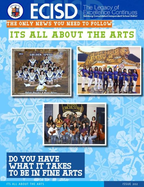 ECISD Fine Arts Magazine 2012-2013