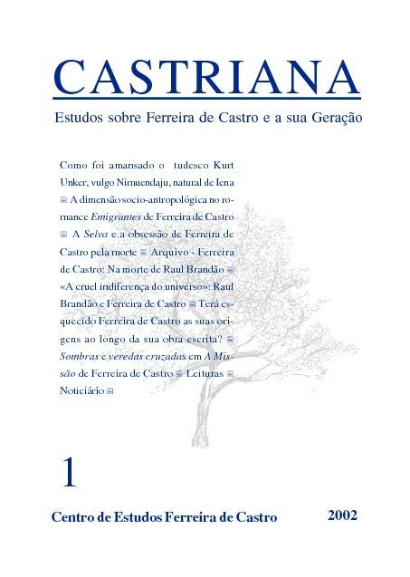 CASTRIANA 1 - Centro de Estudos Ferreira de Castro