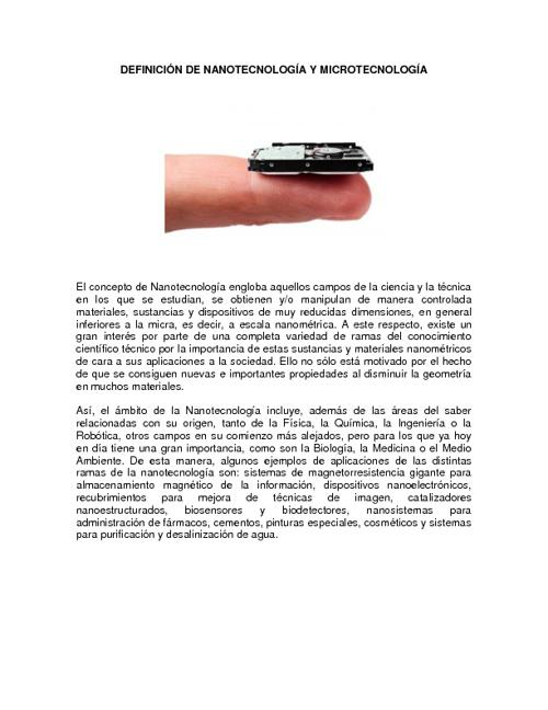Microtecnología