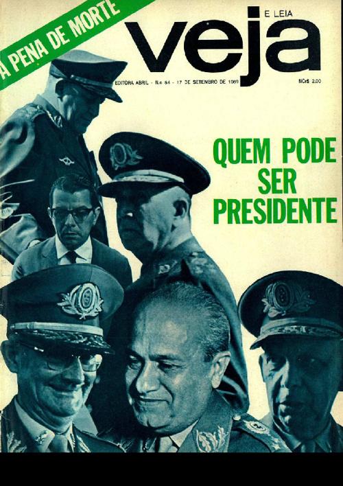 Veja 54 - 17/09/1969