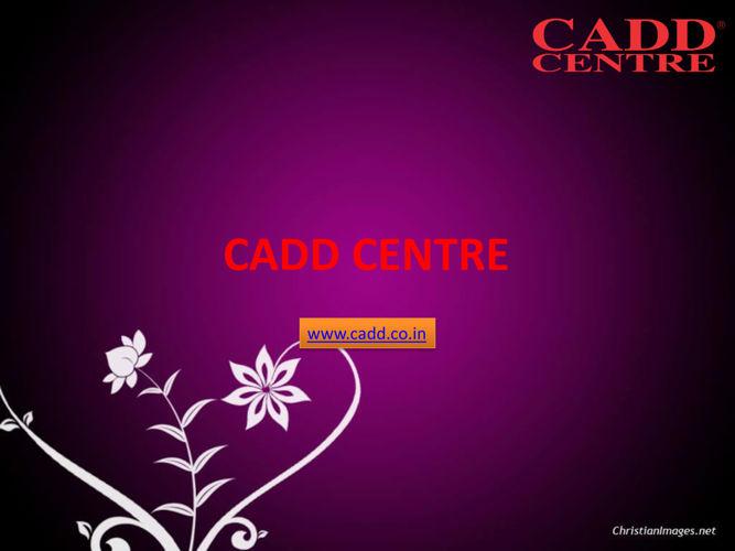 CATIA Training in Chennai,CADD Centre Chennai,AutoCAD Course