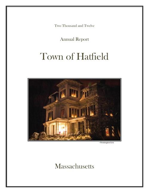 Hatfield Town Report