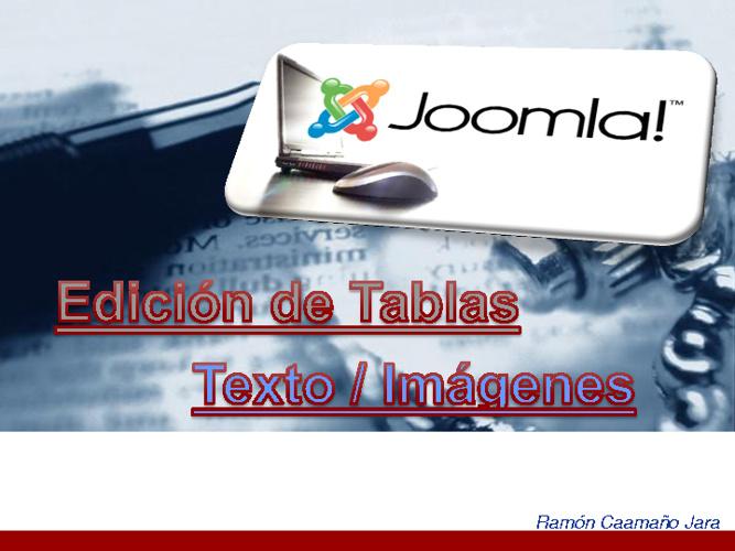 Tutoriales sobre Joomla