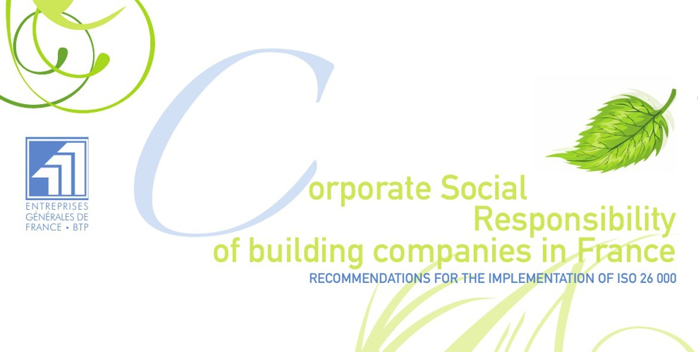CORPORATE SOCIAL RESPONSIBILITY OF BUILDING COMPANIES IN FRANCE