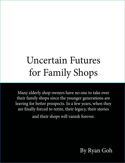 Uncertain Futures for Family Shops