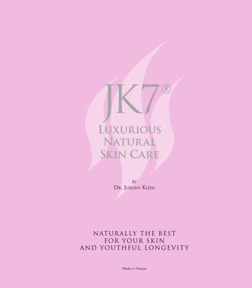 JK7® - Luxurious Natural Skincare Brochure