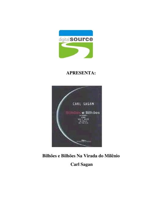 Carl Sagan - Bilhões e Bilhões