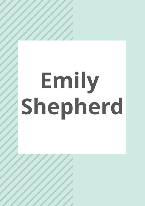 Emily Shepherd Marketing Portfolio