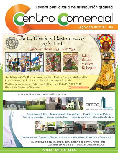 Revista Centro Comercial #3 Ago-Sep de 2015
