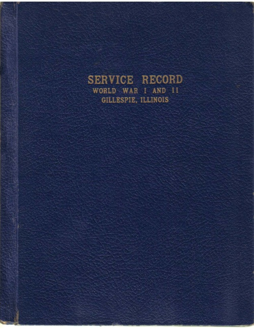Gillespie WWII Book - Vol. 1
