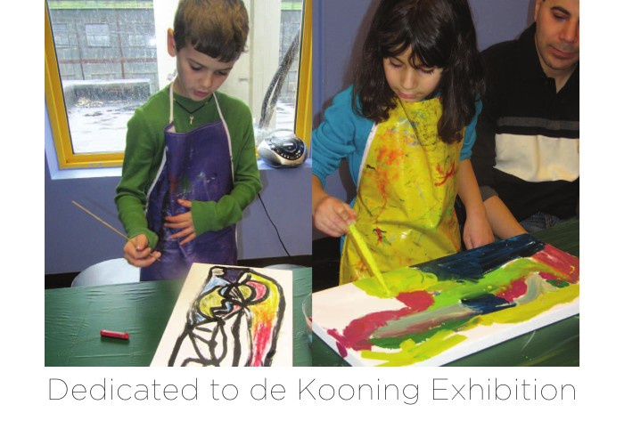 LICM Dedicated to de Kooning Invite