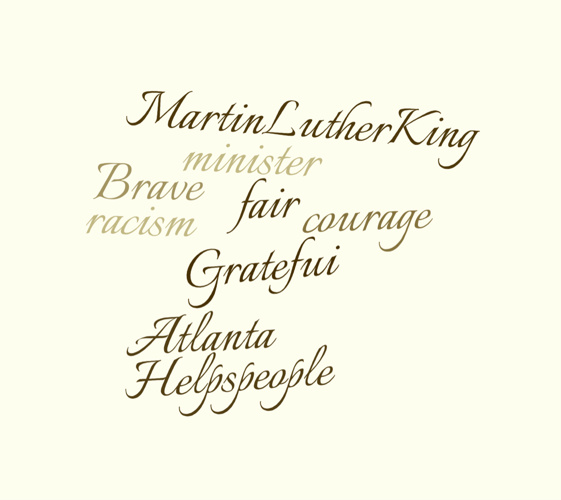 Dr. Martin Luther King Jr. WORDLES