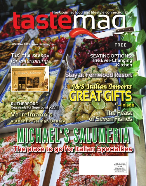 TASTEMAG™ Holiday 2013 Issue