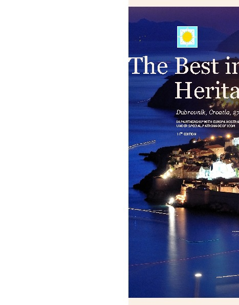 The Best In Heritage 2012