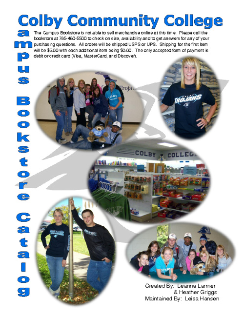 CCC Merchandise Catalog