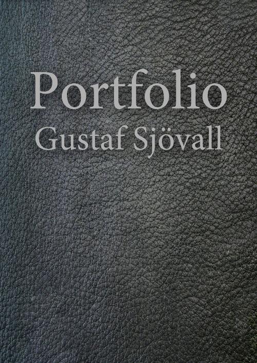 Gustaf Sjövall Portfolio KSG 2012