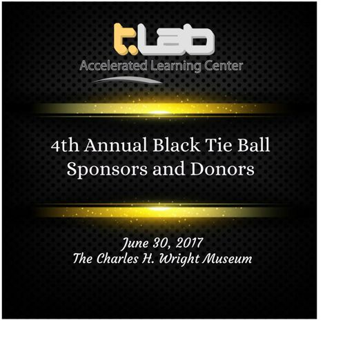 2017 Black Tie Ball Sponsors and Donors