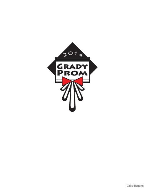 Logo Concepts: Grady Prom 2014