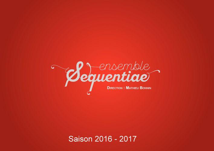 Brochure Sequentiae 2017