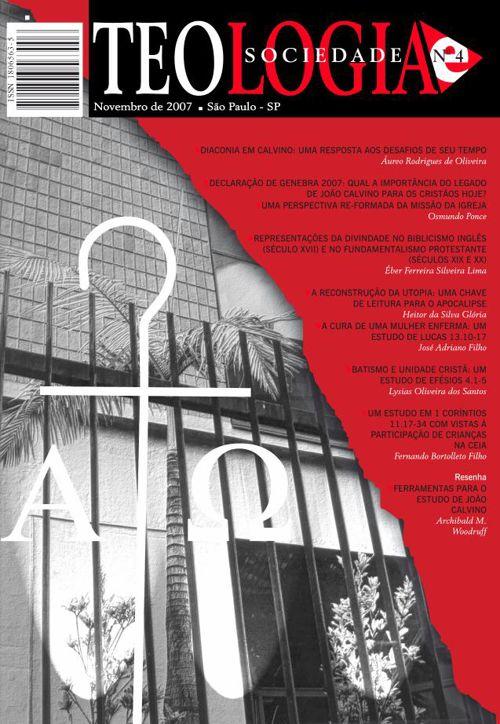 Revista Teologia e Sociedade nº 4
