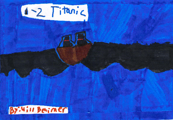 A-Z Titanic by Will B.
