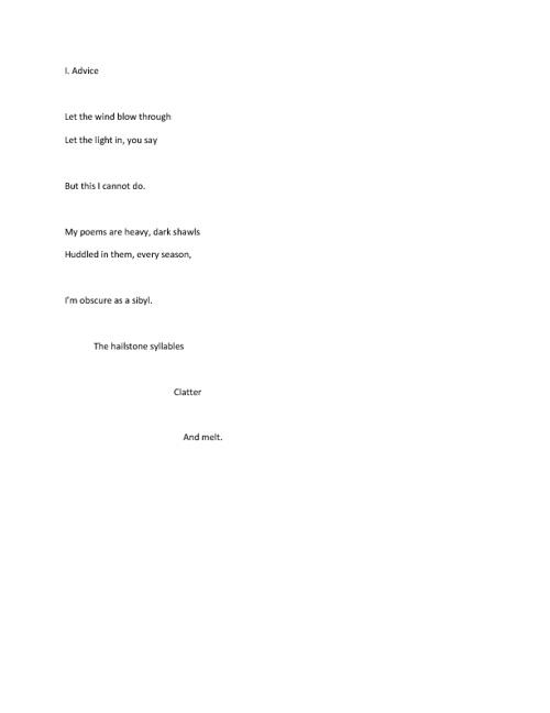 Rukmini Bhaya Nair's Poetry