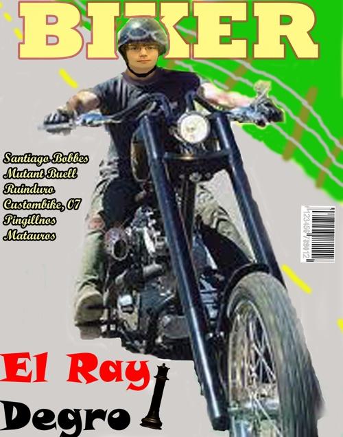 Biker Magazine Cover