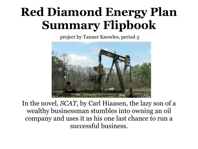 Red Diamond Energy Corporation Plan