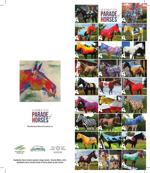 Parade of Horses Rackcard