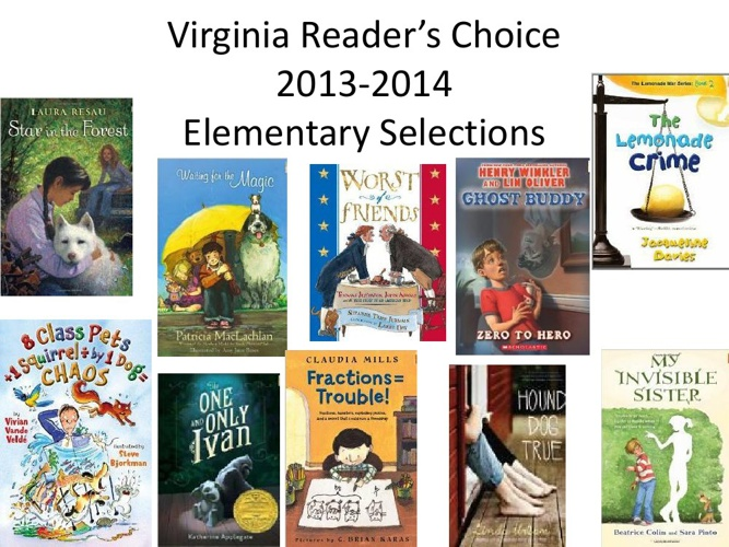 VRC 2013-2014 Elementary Selections