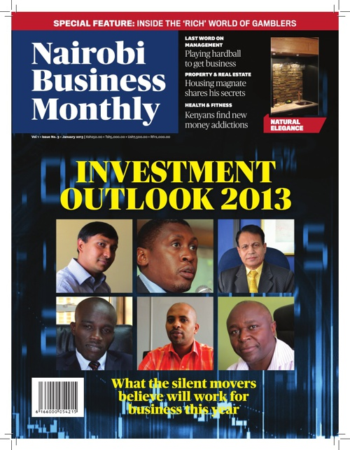 Nairobi Business Monthly January 2013 Issue