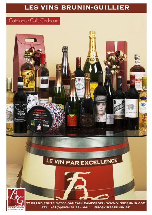 Les vins Brunin-Guillier Calalogue Colis Cadeaux 2015-16