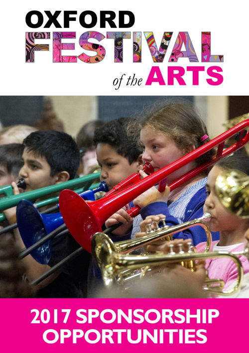 Oxford Festival of the Arts Sponsorship Pack 2017