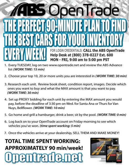 OPENTRADE Flyer - PERFECT 90 MINUTE PLAN - VID1
