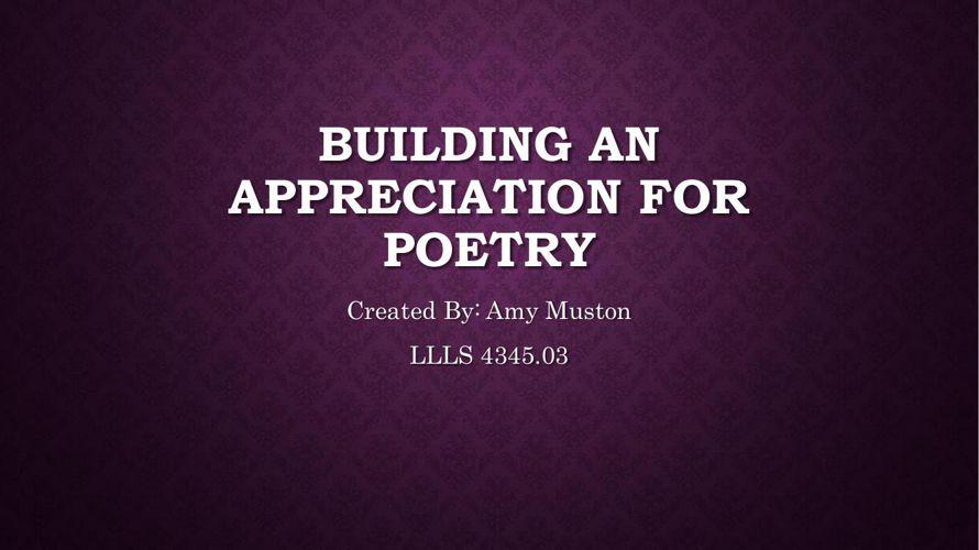 Poetry flipbook