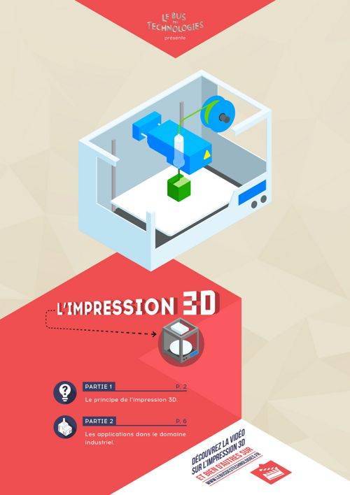 Livret : L'impression 3D, qu'est-ce que c'est ?