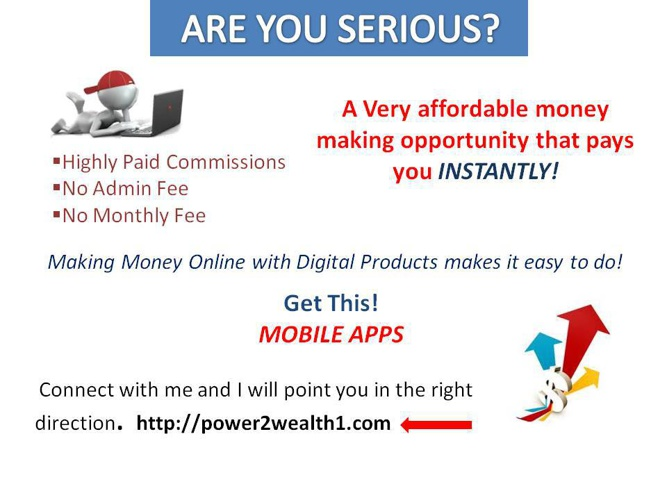 Earn Serious Money Online