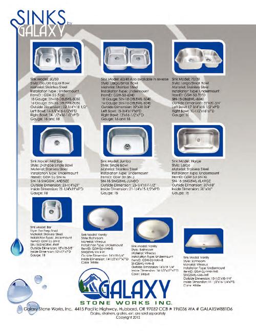 Galaxy Sinks