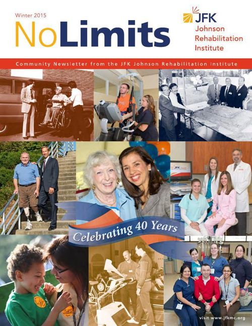 No Limits Newsletter. Winter 2014