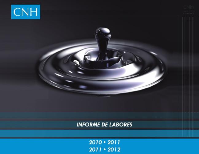 Informe CNH 2010-2012