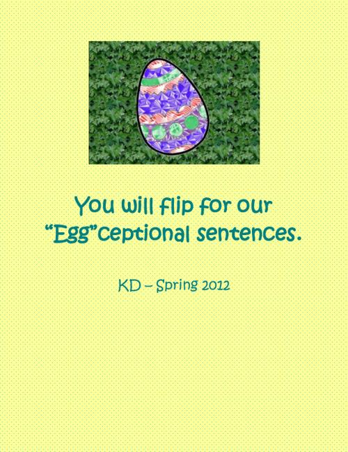 KD Egg Sentences